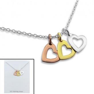 "Stříbrný náhrdelník ""Osha"". Ag 925/1000"